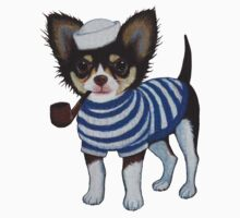 Sailor Chihuahua One Piece - Long Sleeve