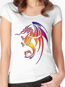 Dragissous V1 dragon Women's Fitted Scoop T-Shirt