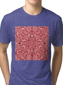 Red Vector Tri-blend T-Shirt