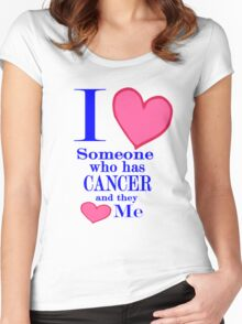 Cancer awareness Special Tees for Special People Women's Fitted Scoop T-Shirt