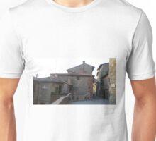 Passignano sul Trasimeno- Umbria, Italy- Italian landscape, italian house, red bricks Unisex T-Shirt