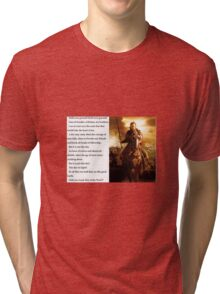 Lord of the Rings - Stand Men of the West Tri-blend T-Shirt
