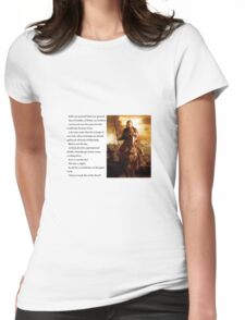 Lord of the Rings - Stand Men of the West Womens Fitted T-Shirt