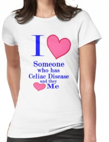 Celiac disease awareness kids adult tees for special people Womens Fitted T-Shirt