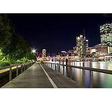 A 'Brisbane Boardwalk' Photographic Print