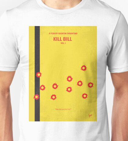 No048 My Kill Bill - part 1 minimal movie poster Unisex T-Shirt