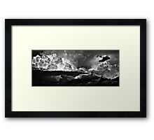 Three Crows (skirting a storm). Stoke-on-Trent, Staffordshire, UK. Framed Print
