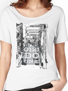 0121 do one - Brummie saying on gifts and clothing Women's Relaxed Fit T-Shirt