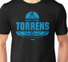Torrens (blue) Unisex T-Shirt