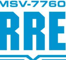 Torrens (blue) Sticker