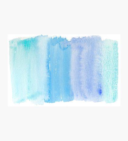 Gradient Paintbrush Design Photographic Print