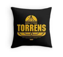 Torrens (yellow) Throw Pillow