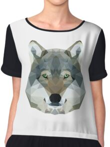 The Wolf of the North Chiffon Top