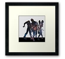 Space Zombies Framed Print