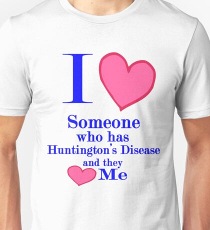 Huntington's disease awareness shirt special tees for special people Unisex T-Shirt
