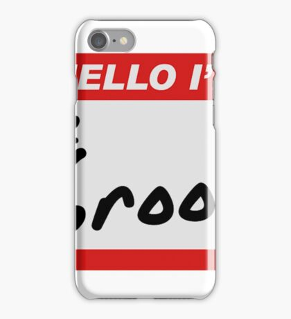 Hello I'm The Groom Bride And Groom Shirts iPhone Case/Skin