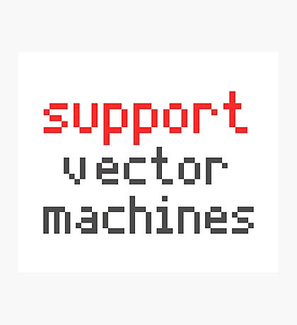 Support vector machines Photographic Print