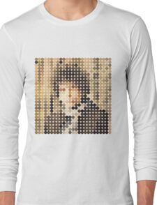 Bob Dylan, Blonde On Blonde, Benday Dots Long Sleeve T-Shirt