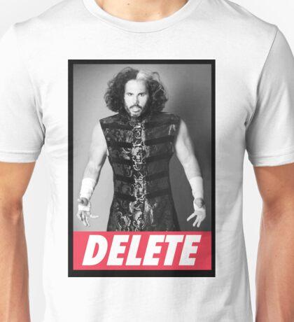 """Broken Matt Hardy """"Delete"""" Obey Unisex T-Shirt"""