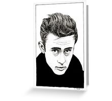 Oh My! James Dean! Greeting Card
