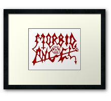 Morbid Angel Logo Framed Print