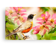 Spring Song Canvas Print