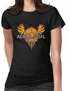 Rocket Leaugue Video Game Aerial Goal +20 Funny Gifts Womens Fitted T-Shirt