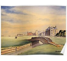 St Andrews Golf Course Scotland Poster