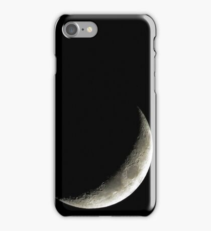 Waxing Crescent  iPhone Case/Skin