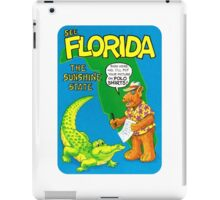 Florida Gator FL United States of ALF Travel Decal iPad Case/Skin