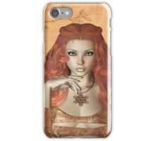 Lady Two .. calendar iPhone Case/Skin