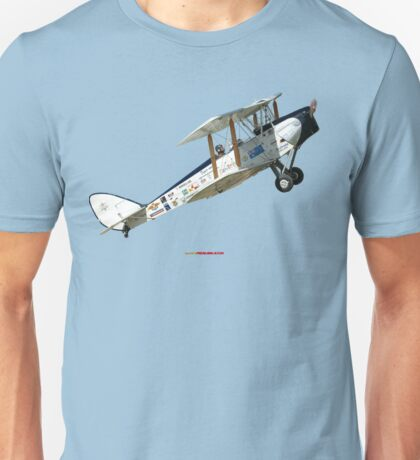 Plane & Simple-Tiger Moth VH-GVA Unisex T-Shirt