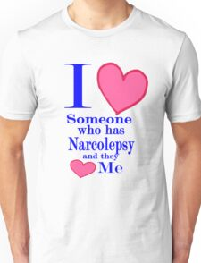Narcolepsy awareness shirt special tees for special people Unisex T-Shirt