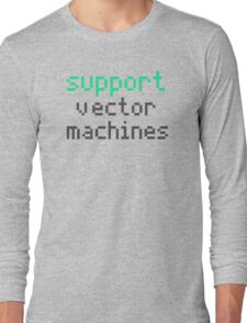 Support vector machines (green) Long Sleeve T-Shirt