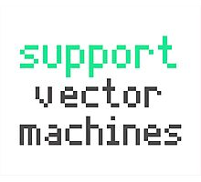 Support vector machines (green) Photographic Print