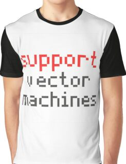 Support vector machines Graphic T-Shirt