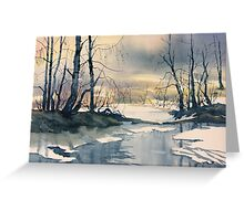 Meltwater - Skipwith Common Greeting Card