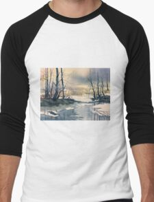 Meltwater - Skipwith Common Men's Baseball ¾ T-Shirt