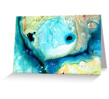 Abstract Art - Holding On - Sharon Cummings Greeting Card