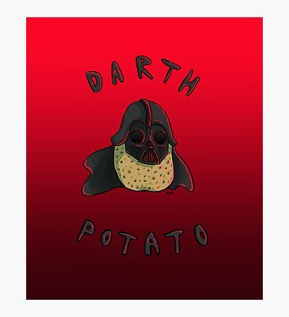 Darth Potato Photographic Print