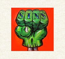 Sinner Zombie Fist Zipped Hoodie