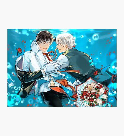 Yuri On Ice 002 Photographic Print
