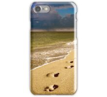 Memories of the Barefoot Mailman iPhone Case/Skin