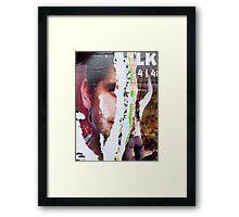 Baker's Half Framed Print