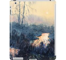 Sunset on Skipwith Common iPad Case/Skin