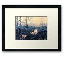 Sunset on Skipwith Common Framed Print