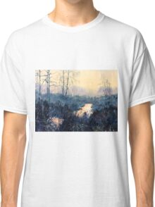 Sunset on Skipwith Common Classic T-Shirt