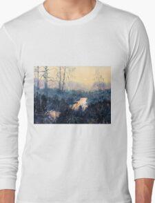 Sunset on Skipwith Common Long Sleeve T-Shirt