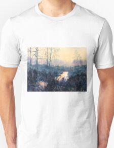 Sunset on Skipwith Common Unisex T-Shirt