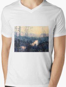 Sunset on Skipwith Common Mens V-Neck T-Shirt